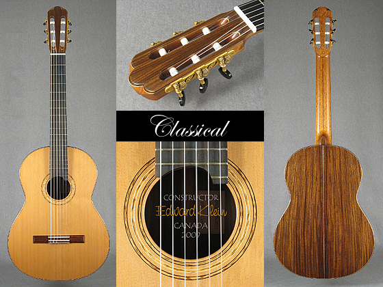 Classical guitar collage